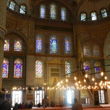 The intricate Blue Mosque