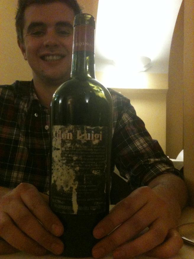 Wine from the Cellar at Spirito in Vino