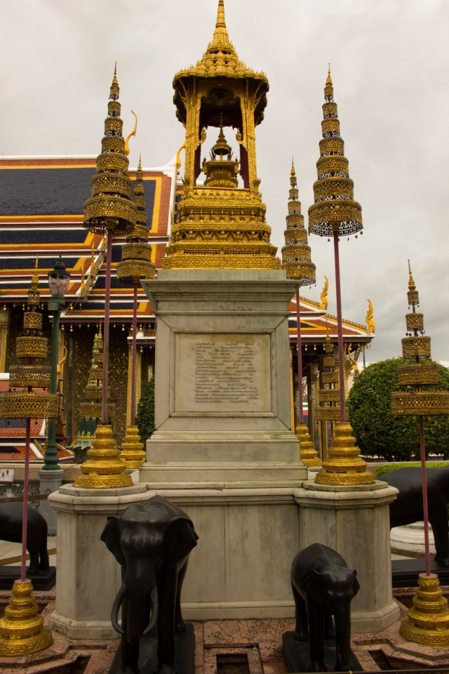 Gold is Everywhere at the Grand Palace