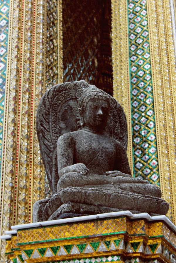 One of the many Buddhas at the Grand Palace
