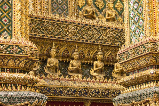 Detailing on the Cornice at the Grand Palace