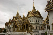 The Thais call this building Farang (foreigner) with a Thai Hat since it was built in the European style but topped with Thai elements