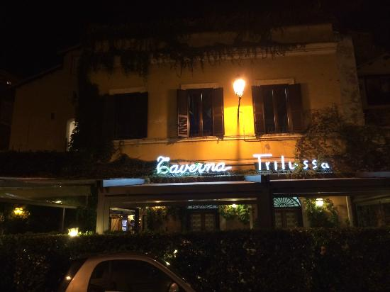 Taverna Trilussa is fantastic but do not expect a cheap meal.  Dinner here adds up! Photo courtesy of Trip Advisor