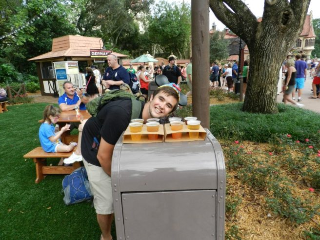 Beer around the world at Epcot