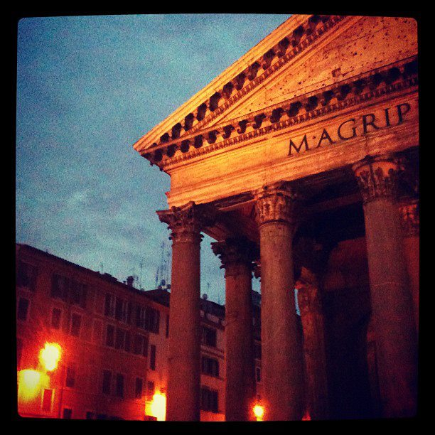 I love the Pantheon so much that I would make sure I passed it on my way to work and almost always instagramed it :)