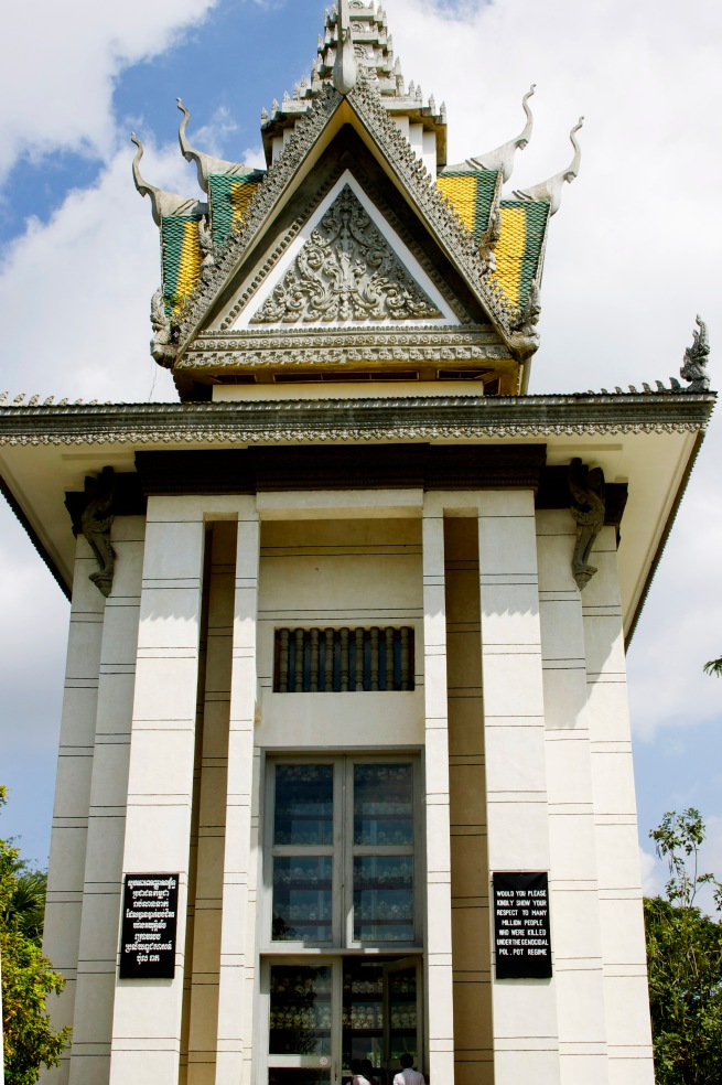The Stupa at the Killing Fields