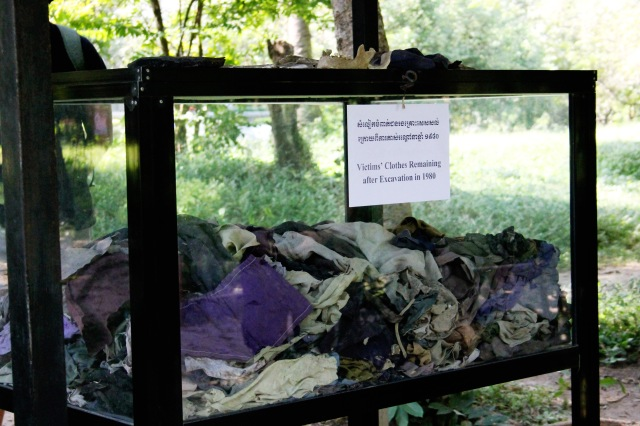 Clothes of the deceased