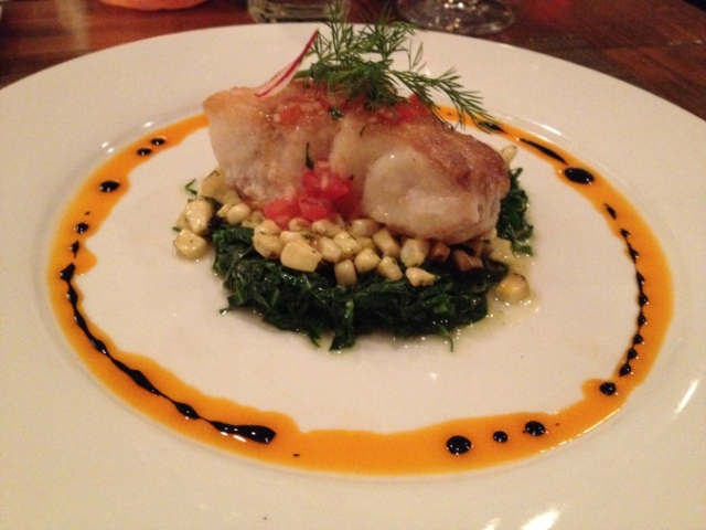 Cafe Lucia has some of the best Sea Bass I have ever had, especially when they have the whole fish on special