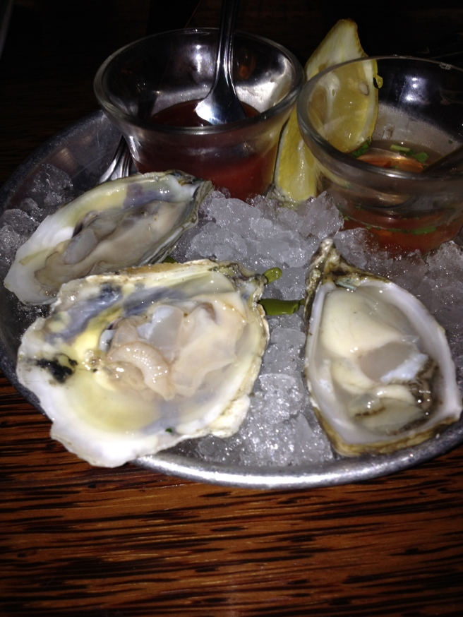 Oysters at Willi's
