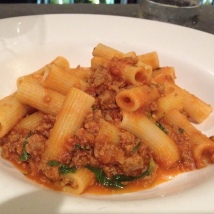 Rigatoni al Salsiccia, so amazing!