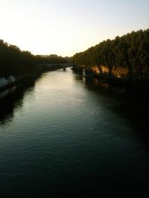 The Tiber in Rome