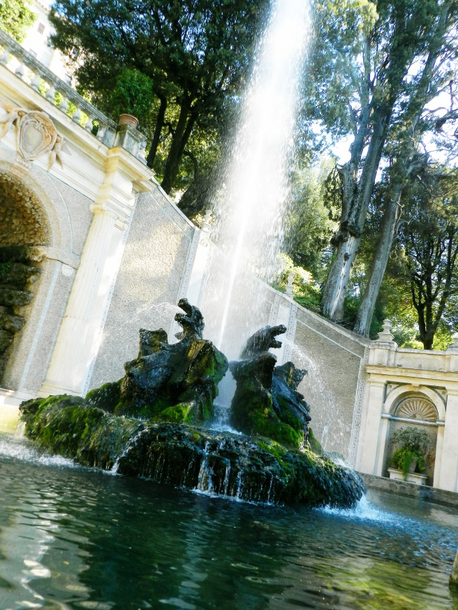 Side Fountains at Villa d'Este