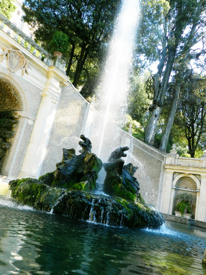 Side Fountains at Villa d'Este