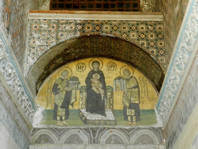 The Hagia Sophia was the gem of the Eastern Orthodox Church and the mosaics are considered some of the best examples we have from that period.