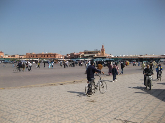 Jemaa el-Fnaa square, Marrakesh