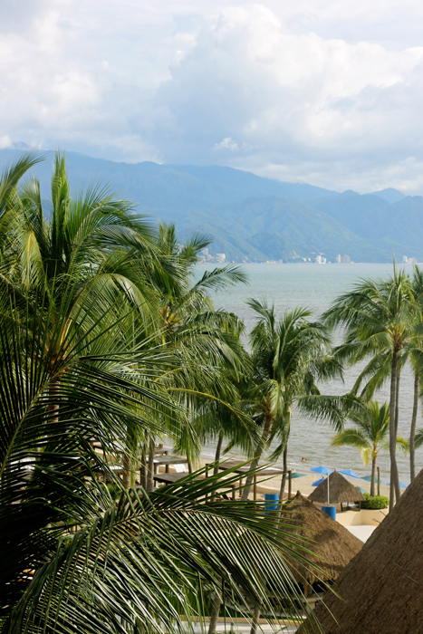 We had an absolutely stunning view of Puerto Vallarta from our hotel room.  Or rather our second hotel room as we had a bit of an issue with the first one (for which I entirely blame Expedia) and ending up switching to the Westin Marina Vallarta. I am so happy with where we ended up staying!  How could I not with this view?