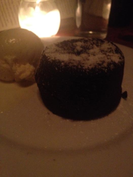 Molten Chocolate Cake!