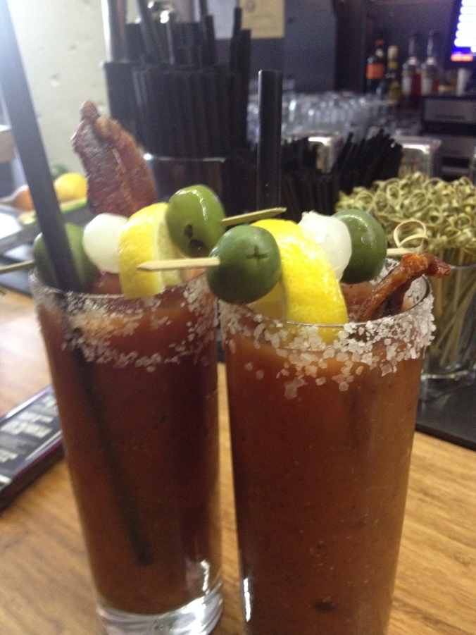 Bloody Marys at Tilt