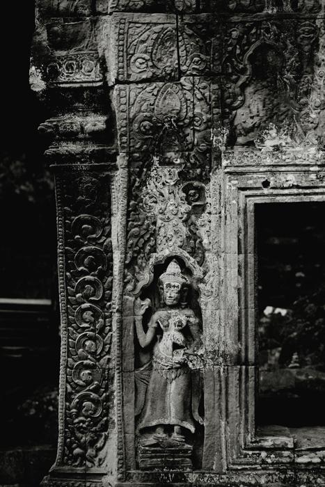 Sculptural Details at Ta Prohm