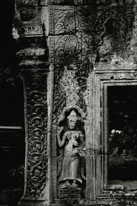 Sculptural Details at Ta Prohm