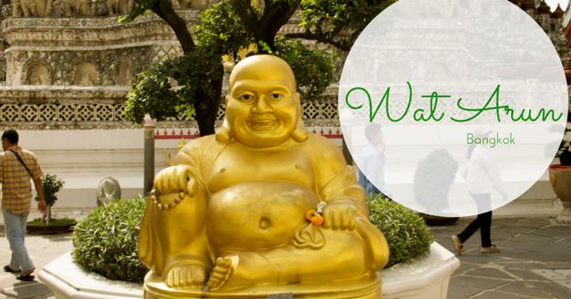 Hiking Up Wat Arun
