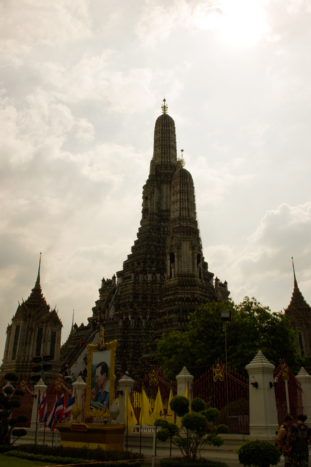 Imposing Wat Arun