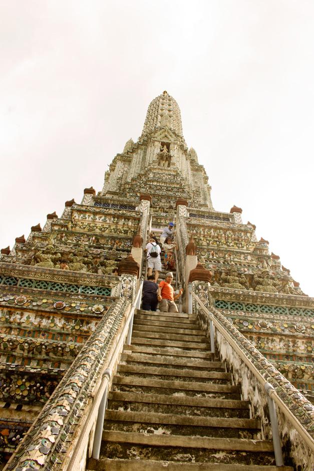 The Steps of Wat Arun Just Keep Getting Steeper