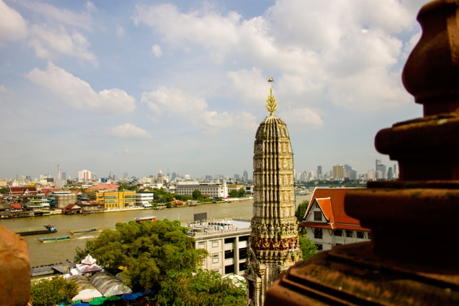 View of Bangkok from Wat Arun