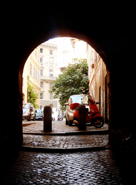 Archway to the Centro Storico