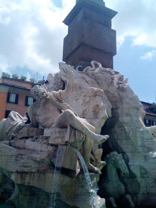 Bernini's Four Rivers Fountain