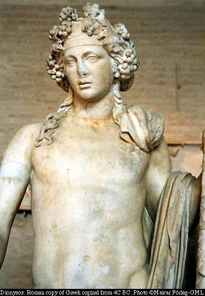 Dionysus the Greek God of Wine