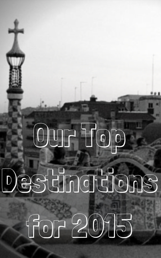 Our Top Destinations for 2015