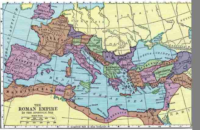 The Roman Empire!